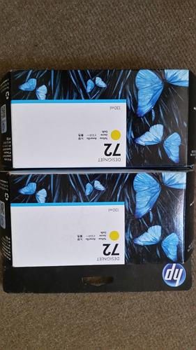 cartuchos de tinta designjet hp 72 de 130 ml