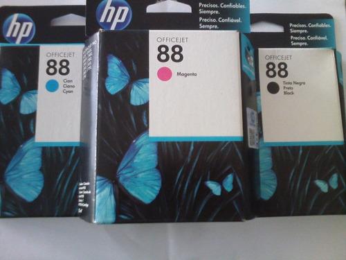 cartuchos de tinta hp 88
