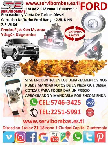 cartuchos de turbo ford ranger 3.0 wlaa  geometría variable