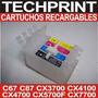 Cartuchos Recargables T23 T24 Tx105 Tx115 Sistema Continuo
