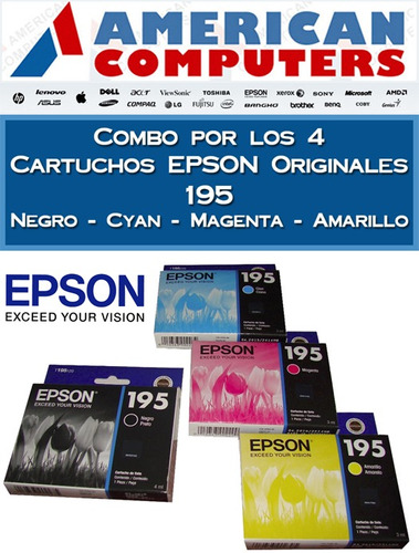cartuchos epson original