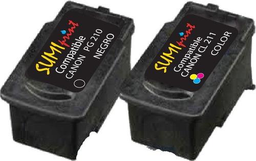 cartuchos genericos para sistemas canon cl 211