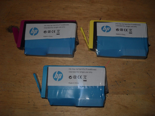 cartuchos hp 100% originales 564 color amarillo magenta cyan
