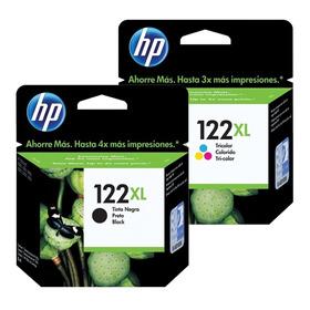 Cartuchos Hp 122 Negro Y Color Xl Nuevo Garantia