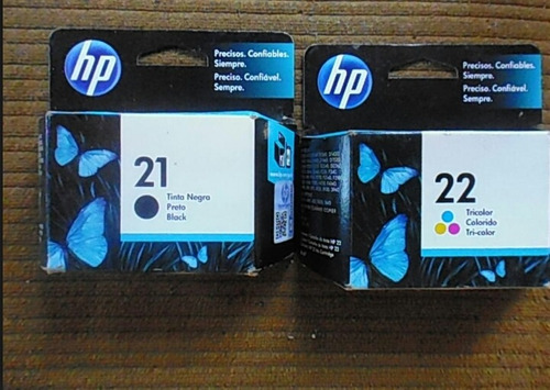 cartuchos hp  61 74 75 21 22 95 27 60 122 662 901 original