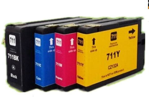 cartuchos hp 711 para plotter t120 t520 80ml