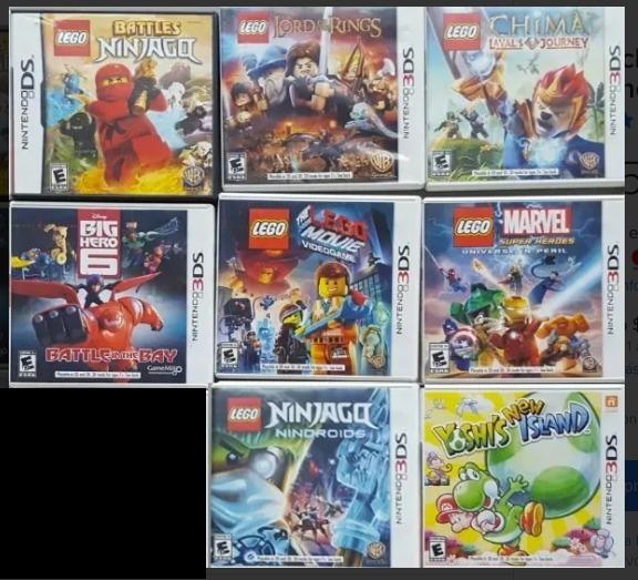 Cartuchos Juegos Nintendo 3ds 550 00 En Mercado Libre