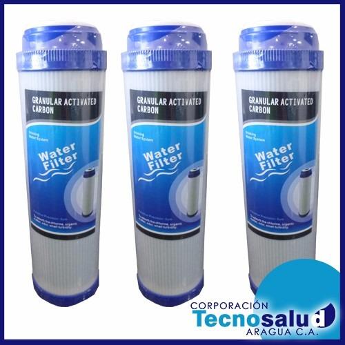 cartuchos para filtros de agua carbón activado