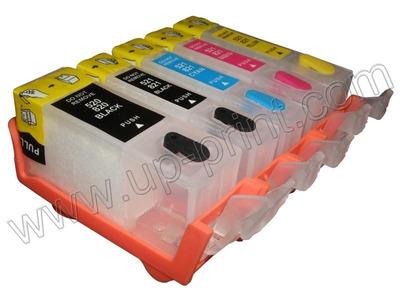 cartuchos recargables canon 125/126 ip4810/mg5210