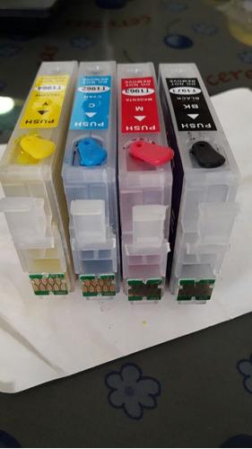 cartuchos rellenables 195 (impresoras xp epson)