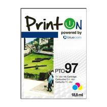 Cartucho Printon Tricolor C9363wl 97 18.8ml Hp Deskjet 460c,