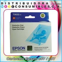 Cartucho Epson Stylus T063220 T063320 T063420 /c67/c87