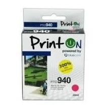 Cartucho Printon Compatible Con Hp 940 Magenta 300% + Rendim