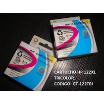 Cartucho De Impresora Hp 122xl Tricolor