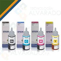 Botella Tinta Impresora Epson L200 L210 L110 L355 L555 T664