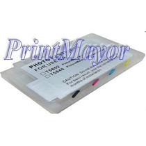 Cartucho Recargable Picturemate T5846 Epson 200 225 260 290