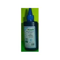 Tinta Cyan Para Epson Marca Wash 100ml Calidad Fotografica