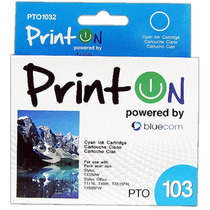 Cartucho Printon Pto1032 Compatible Con Epson Stylus #102