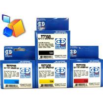 Cartucho Epson 73n 90n Epson Eleg Print 15ml Negro/colores