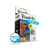 Cartucho Compatible Hp 22 Printon Tricolor