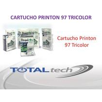 Cartucho Printon 97 Tricolor
