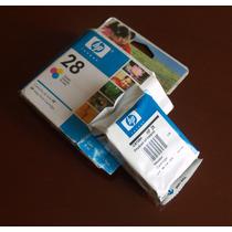 Cartuchos De Tinta Hp 28 Originales (compatible Con 22)