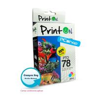 Cartucho Compatible Hp 78 Printon Tricolor