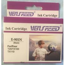 Cartucho E-901n Venspeed Para Epson Aplica T20/tx100/tx110