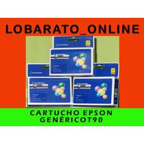 Cartucho Epson T90 Genérico Para Impresoras C92/cx5600