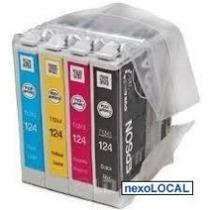 Cartuchos Originales Epson 124 Para Nx125 Nx127 Nx130 Nx230