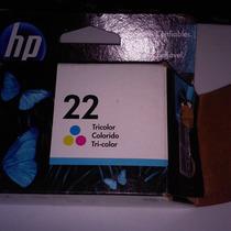 Cartucho Para Impresora Hp22