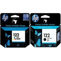 Combo Cartuchos Hp Originales 122 Negro Y 122 Color