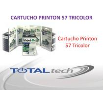 Cartucho Printon 57 Tricolor