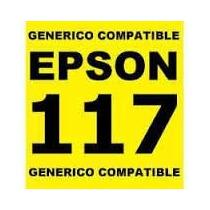 Cartucho Epson Generico 117 Tx105 T23 Negro