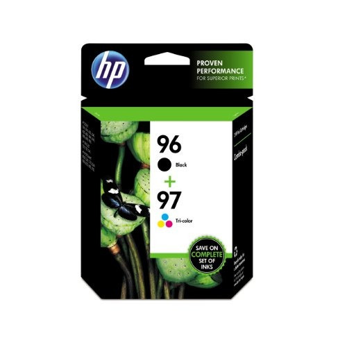 cartuchos tinta original hp 96 negro & 97 tri -color, 2 cart