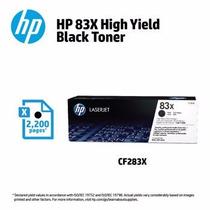 Toner Hp 83a Y 83x Negro Cf283a 283 Para Hp M127 125 201 225