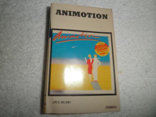 caràtula cassette de animotion - animotion (venezuela 1984)
