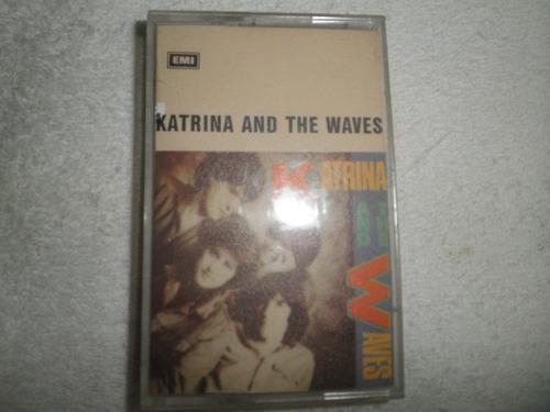 caràtula cassette katrina and the waves (ed. venezuela 1985)