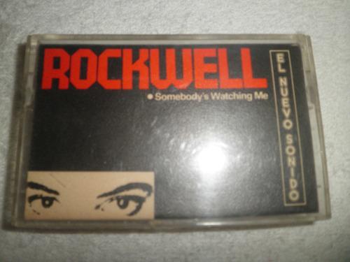 caràtula cassette rockwell - somebody's watching me (1983)