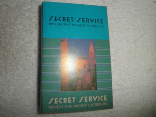 caràtula cassette secret service - when the night close in