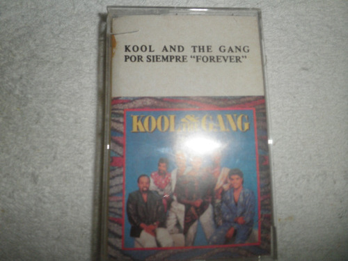 caràtula del cassette de kool and the gang - forever (1986)