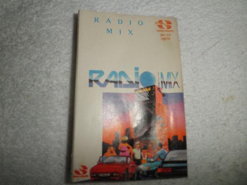 caràtula del cassette de radio mix (edic. venezuela 1988)