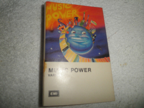 caràtula del cassette music power - varios artistas (1988)