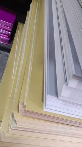 cartulina doble faz de color reverso blanco 235 gr