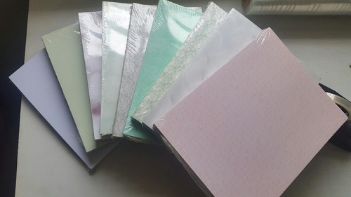 cartulina italiana importada colores opalina gruesa x 100 un