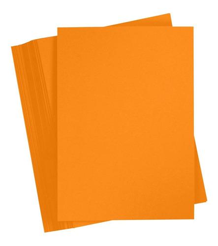 cartulina prisma 250gr. 70x100 mandarina