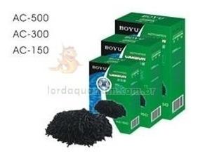 carvao ativado premium boyu 1kg ac-1000 p/ filtragem aquario