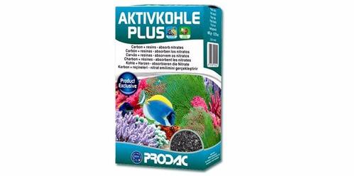 carvao ativado prodac activ kohle plus 400g para aquários
