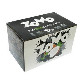Carvão De Côco Para Narguilé 1kg Zomo