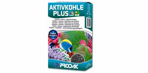 carvao prodac activ kohle plus 200g para aquários 40 à 100l